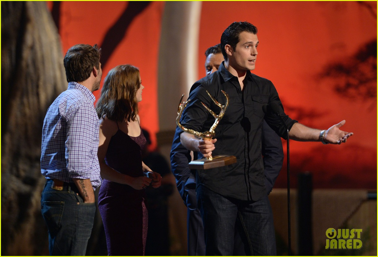 henry cavill amy adams guys choice awards 2013 14