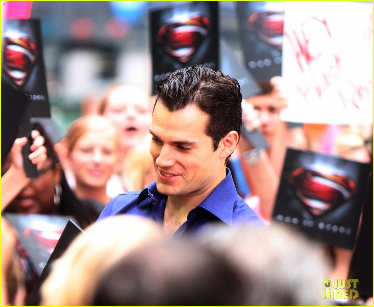 henry cavill amy adams talk show appearances in nyc 18