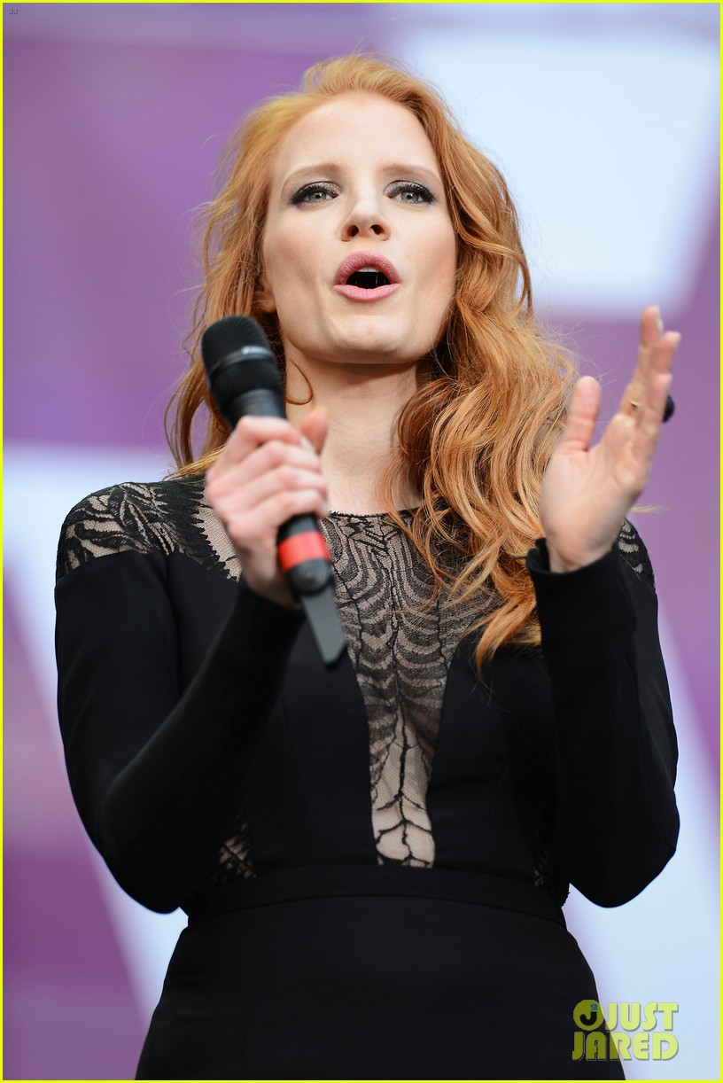 jessica chastain james franco chime for change concert 122882062