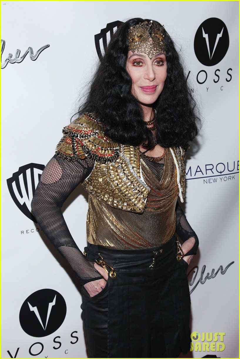 Cher promotes woman s world in new york city