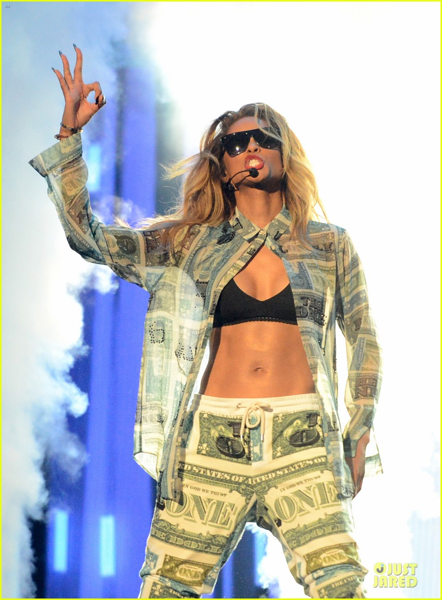 ciara nicki minaj bet awards 2013 performance video 15