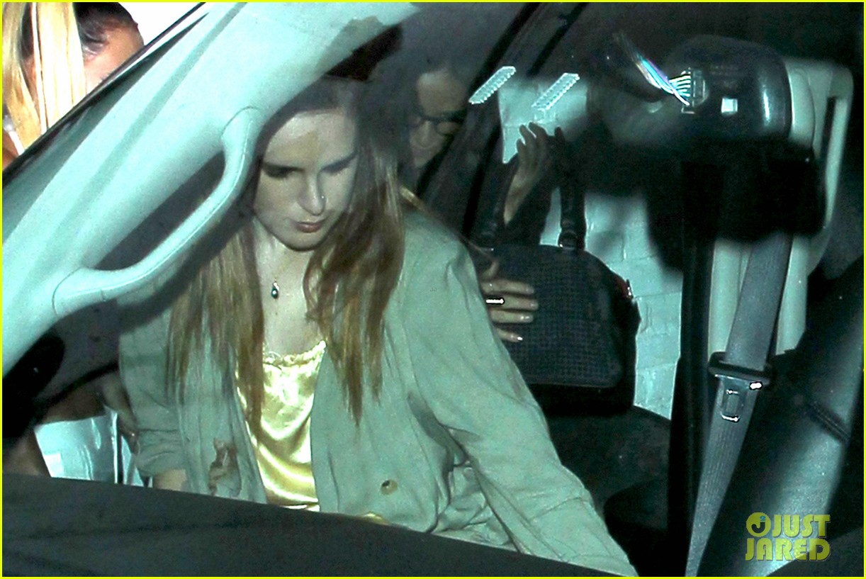 demi moore rumer willis sneak out of sayers club 072895791