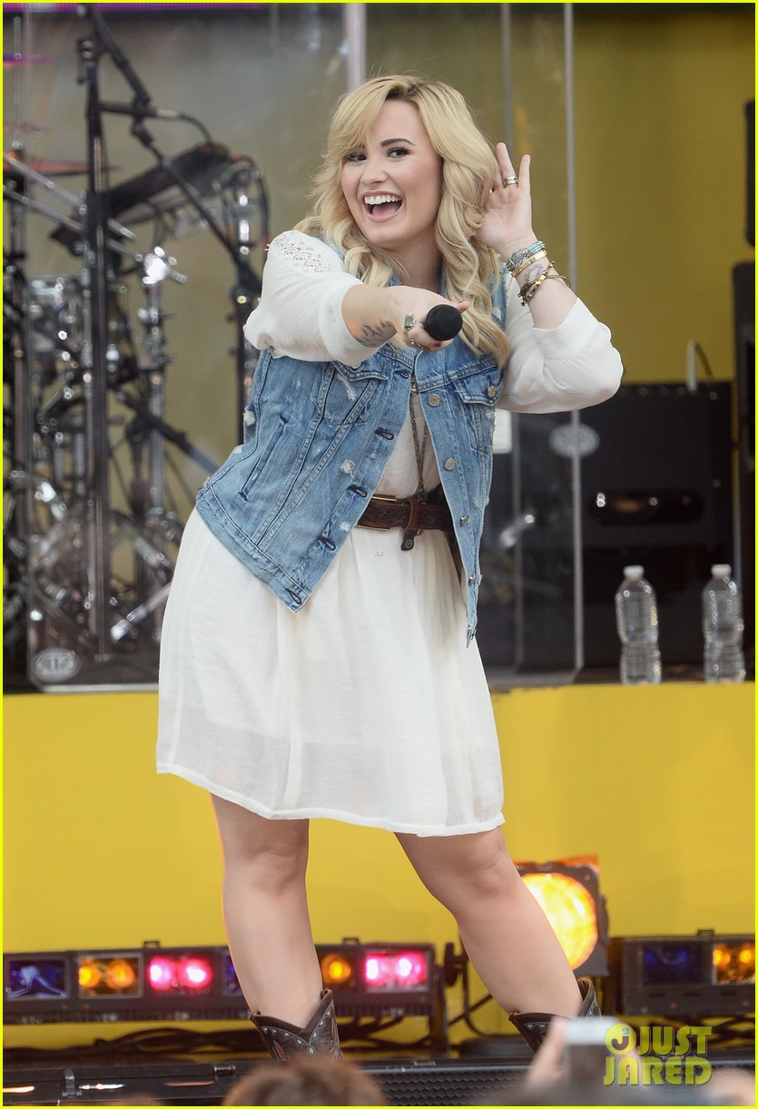 demi lovato good morning america summer concert performer 062899954