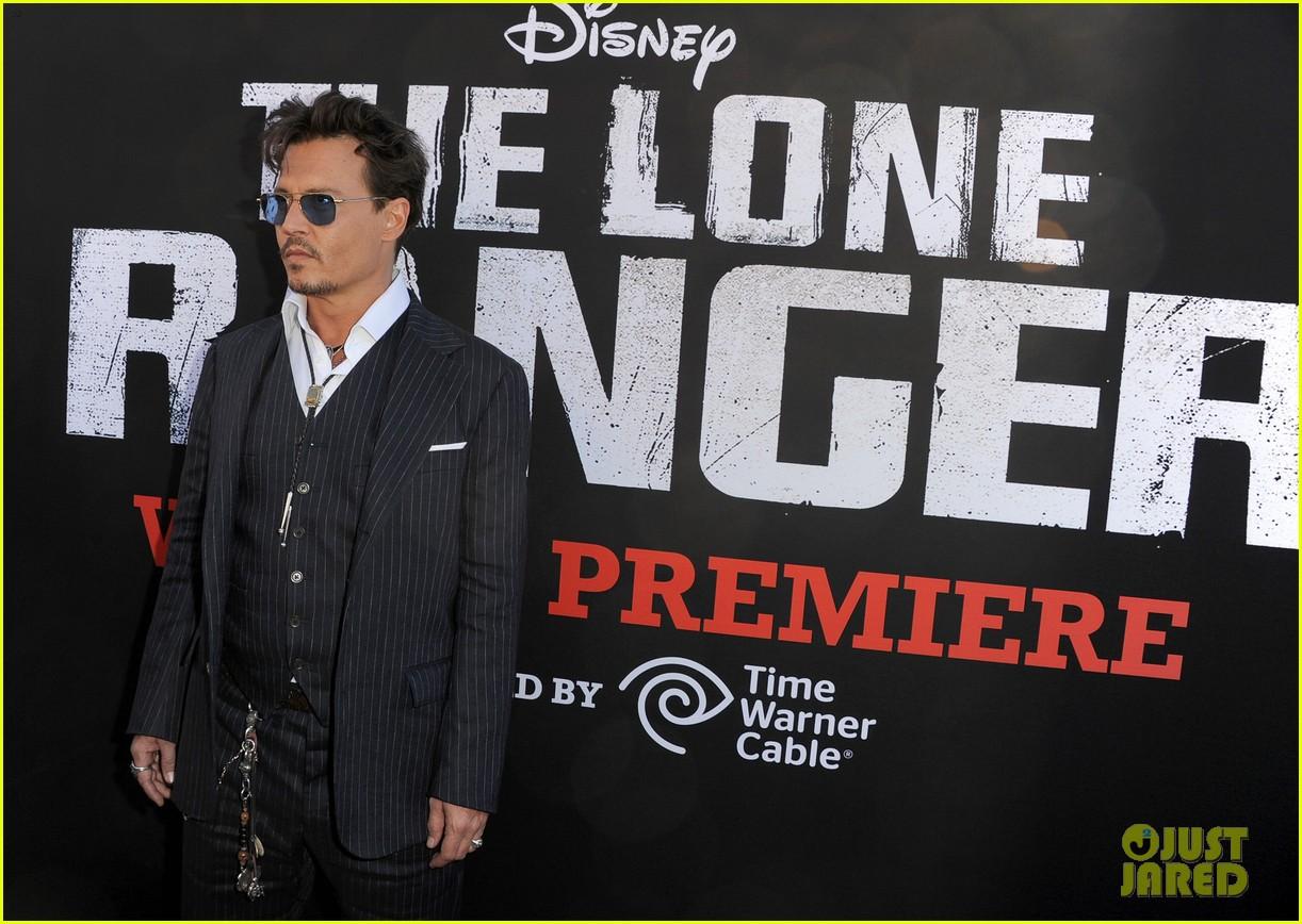 johnny depp lone ranger disneyland premiere 242896507