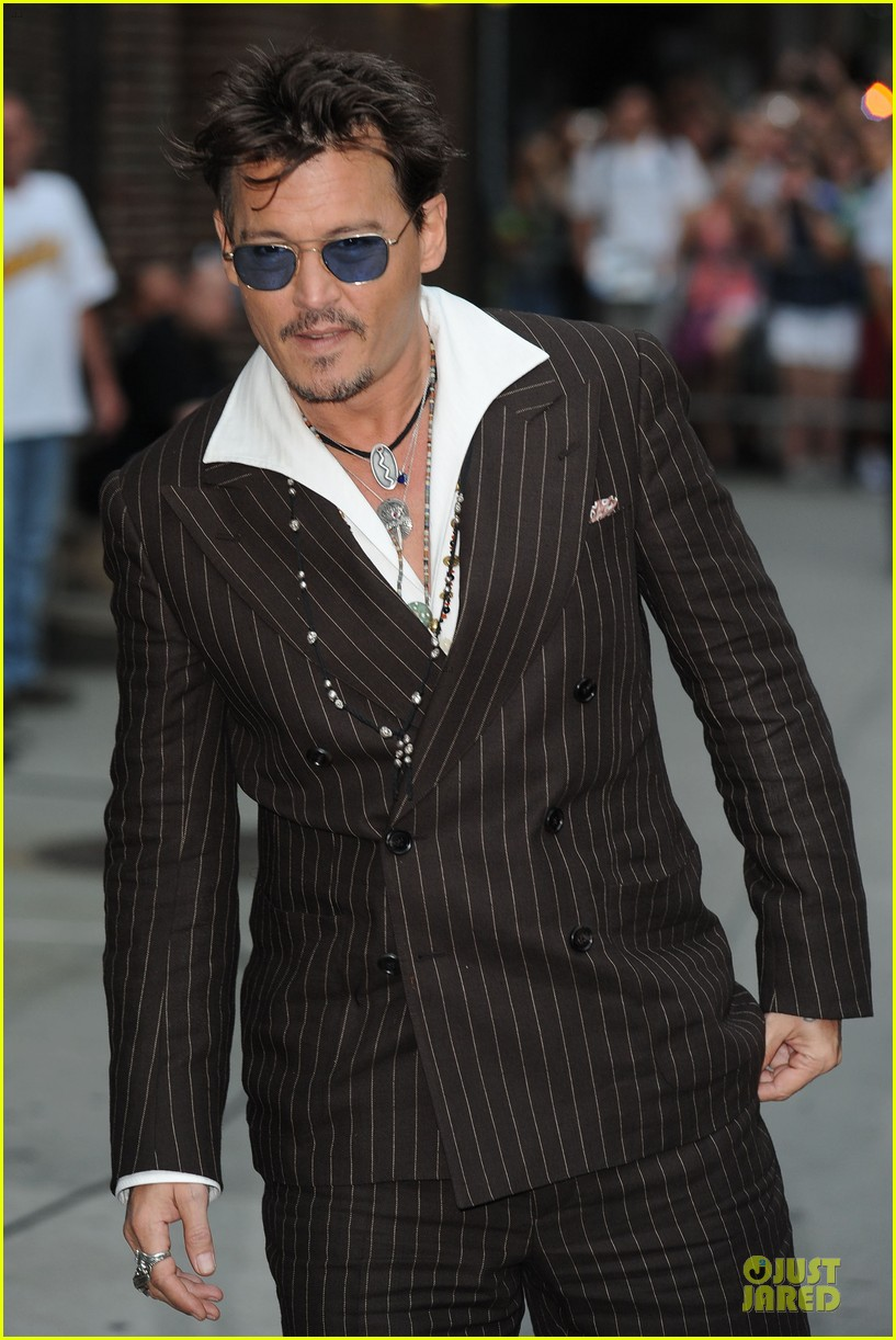johnny depp lone ranger promotion on letterman 16