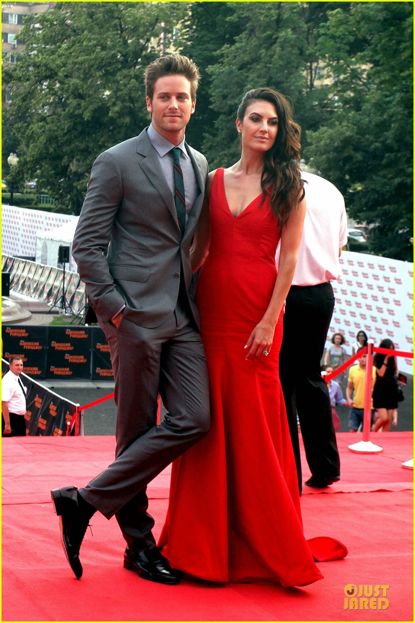 johnny depp armie hammer lone ranger moscow premiere 082900079