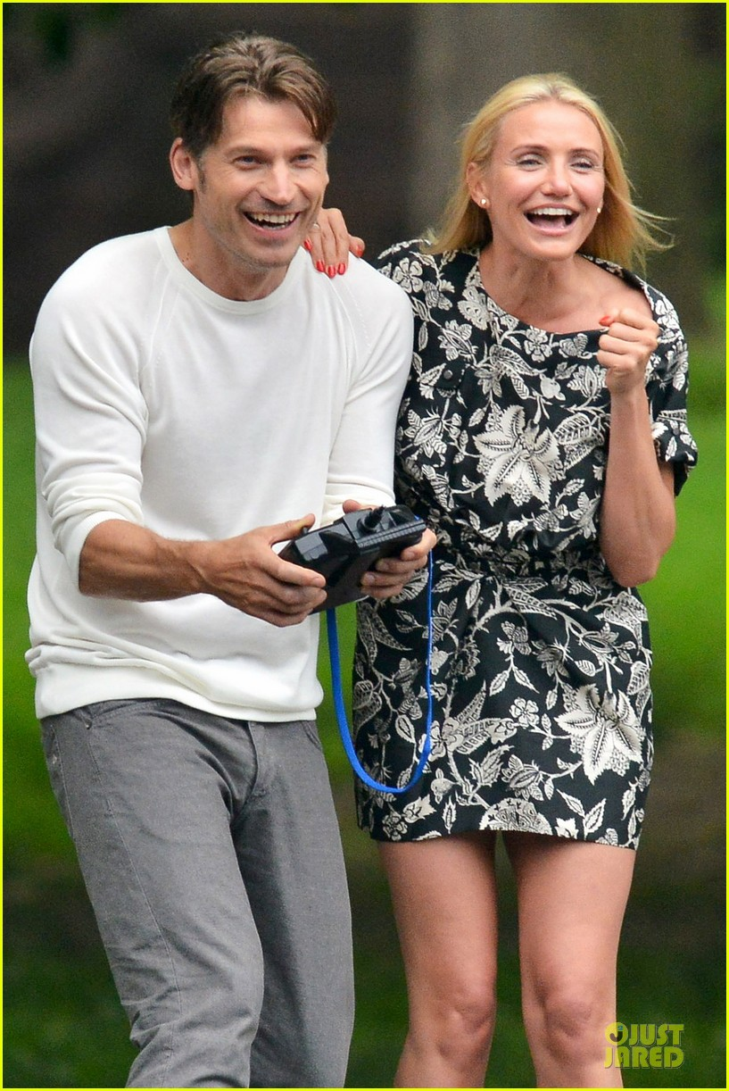 cameron diaz other woman lunch break with costars 11