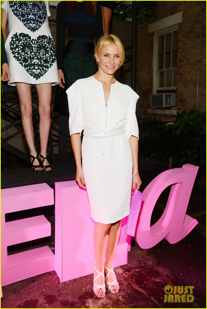 cameron diaz kate bosworth stella mccartney spring 2014 presentation 16