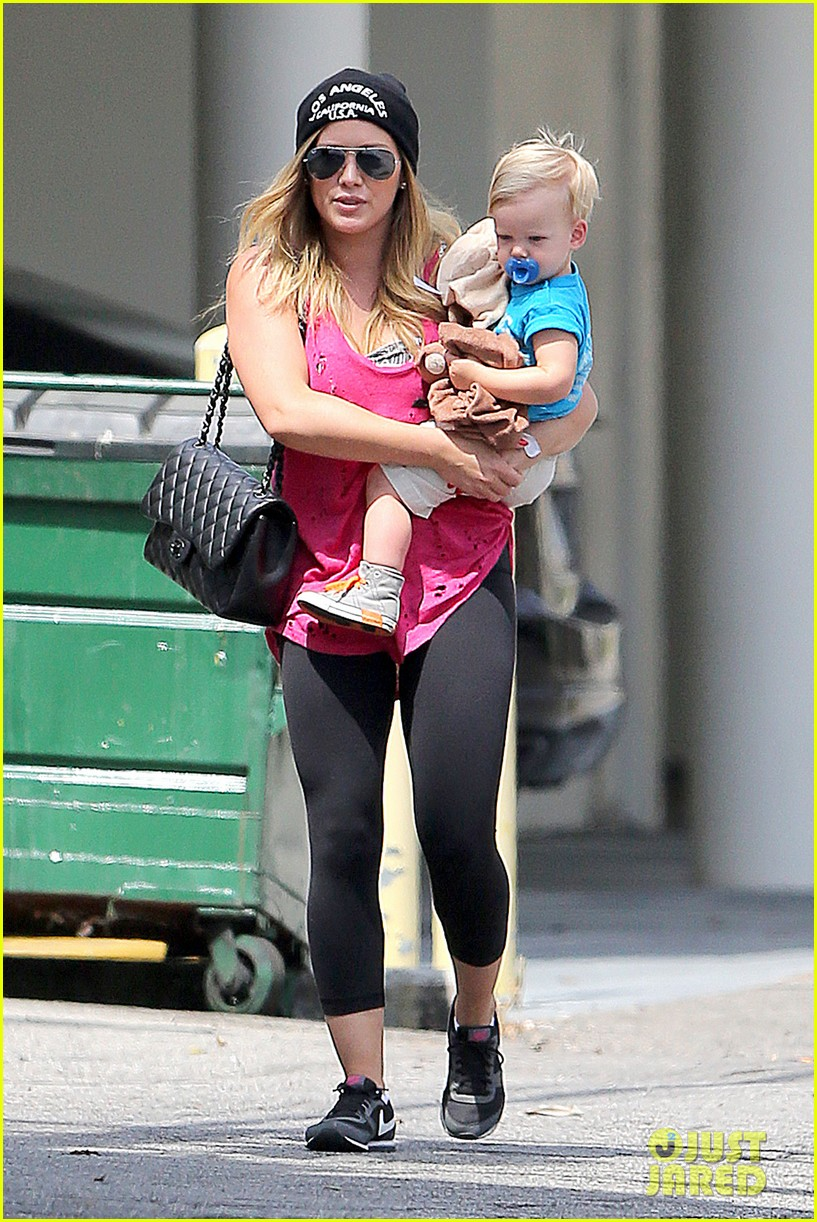 hilary duff luca is the sweetest boy i ever met 062897485