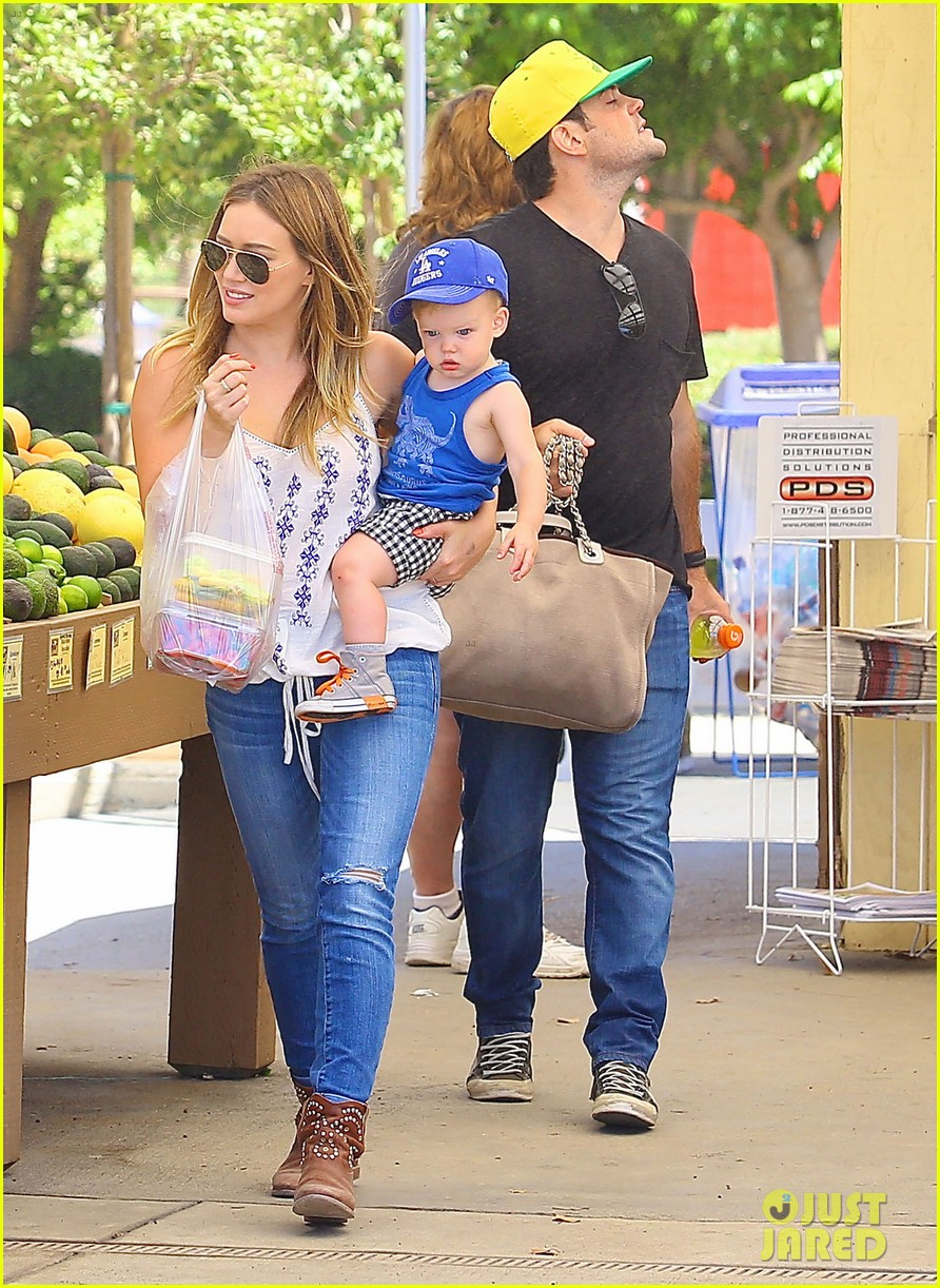 hilary duff family farm fun with sister haylie 342896842