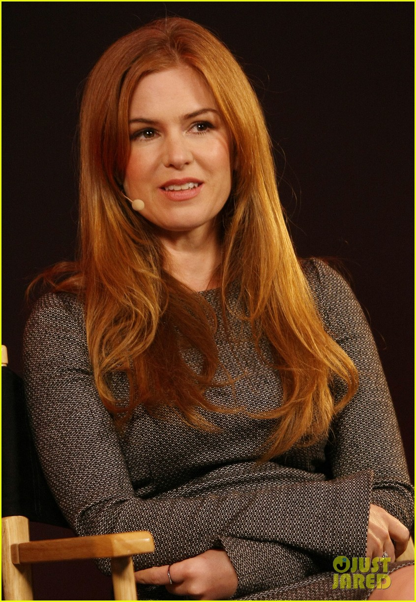 isla fisher apple store appearance in london 02