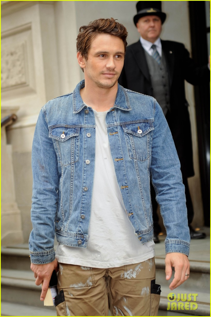 james franco gucci milan fashion show 05