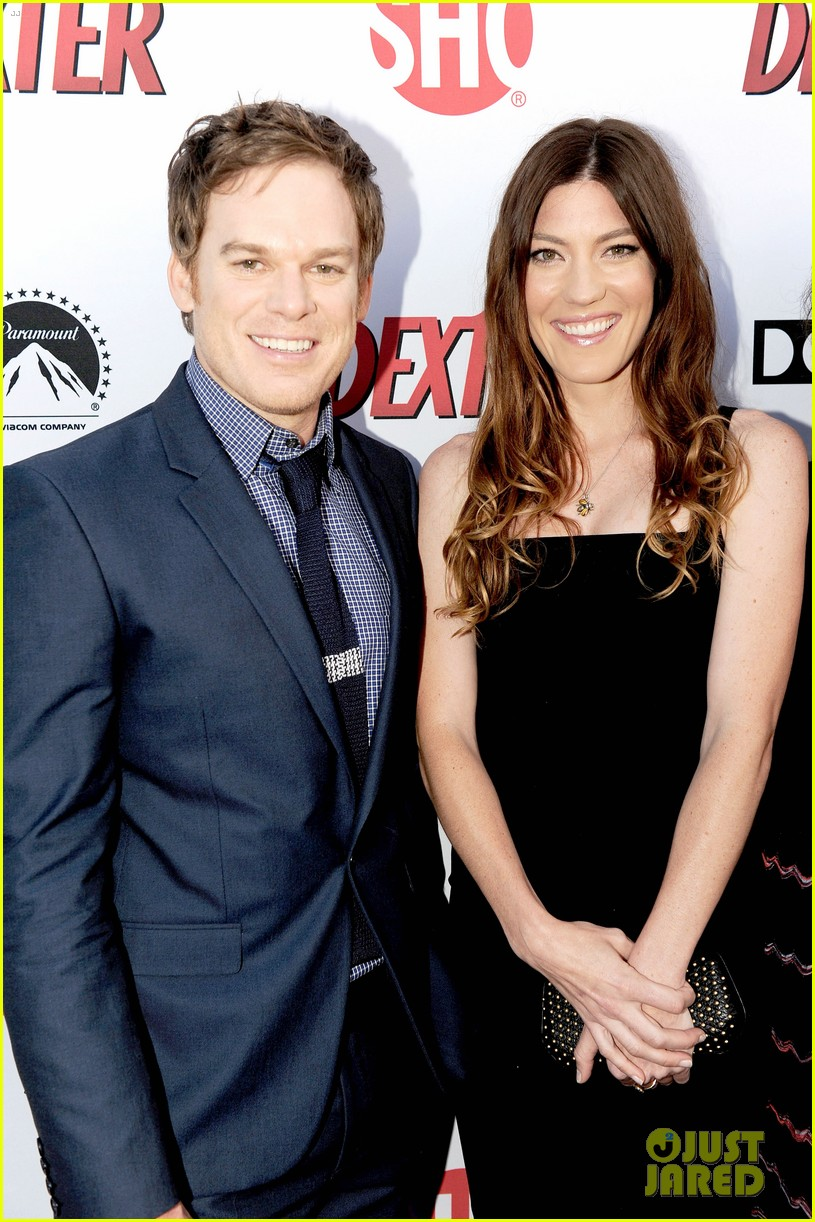 michael c hall jennifer carpenter dexter premiere 02