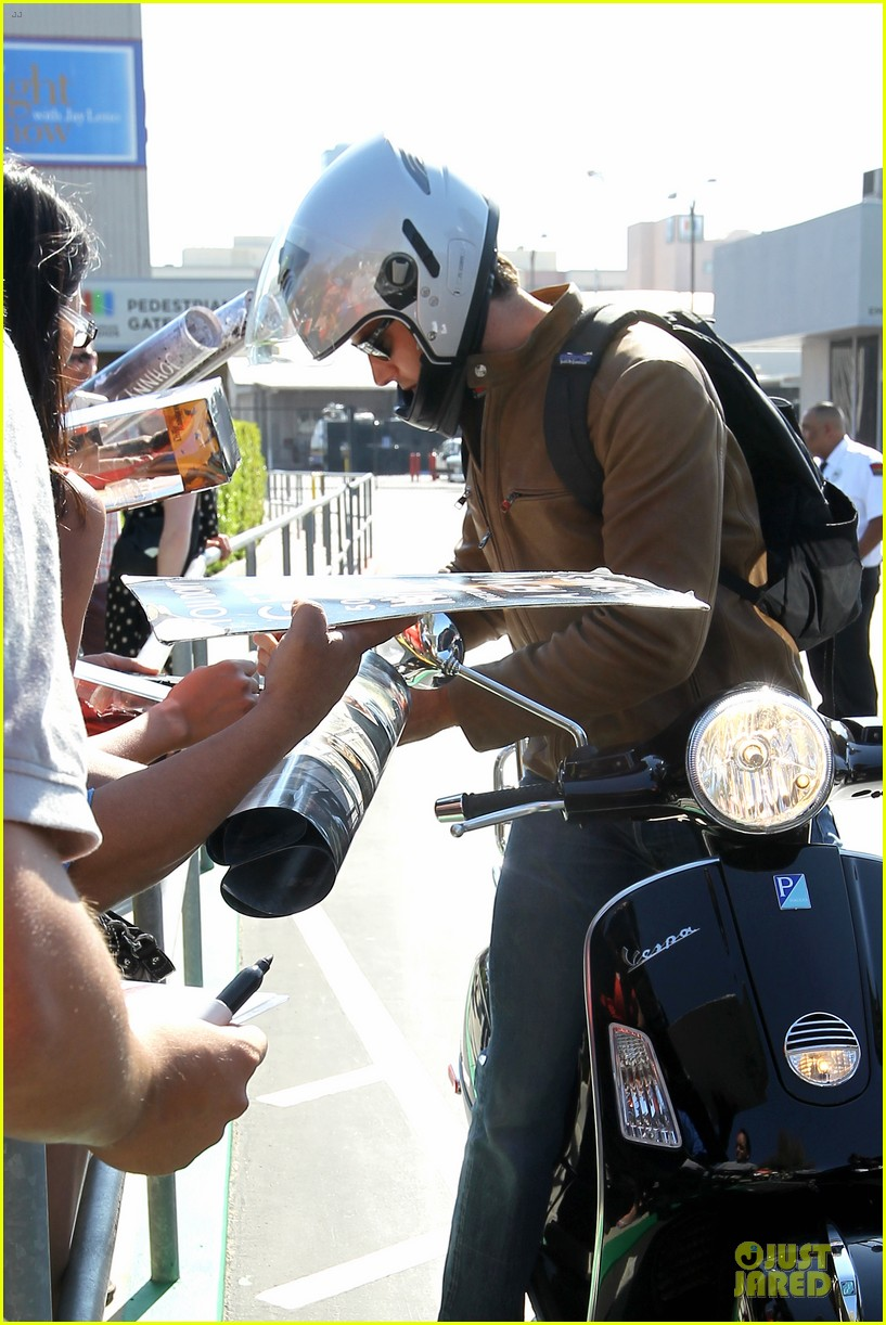 armie hammer motorcycle rider after leno appearance 15