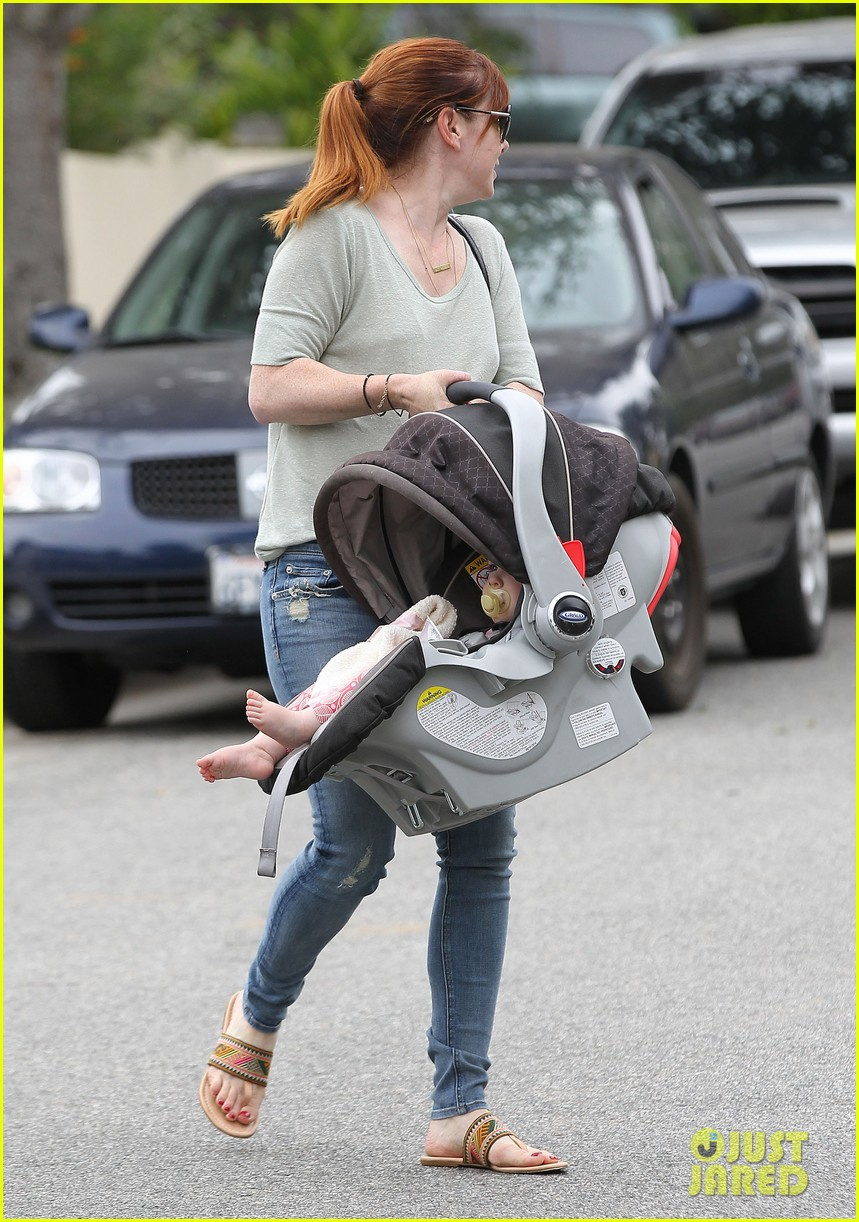 alyson hannigan girls day out with keeva 08