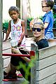 heidi klum martin kirsten take the kids to the park 13