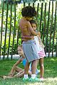 heidi klum martin kirsten take the kids to the park 20