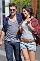 josh hutcherson claudia traisac kiss after motorcycle ride 17