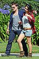 josh hutcherson claudia traisac kiss after motorcycle ride 18