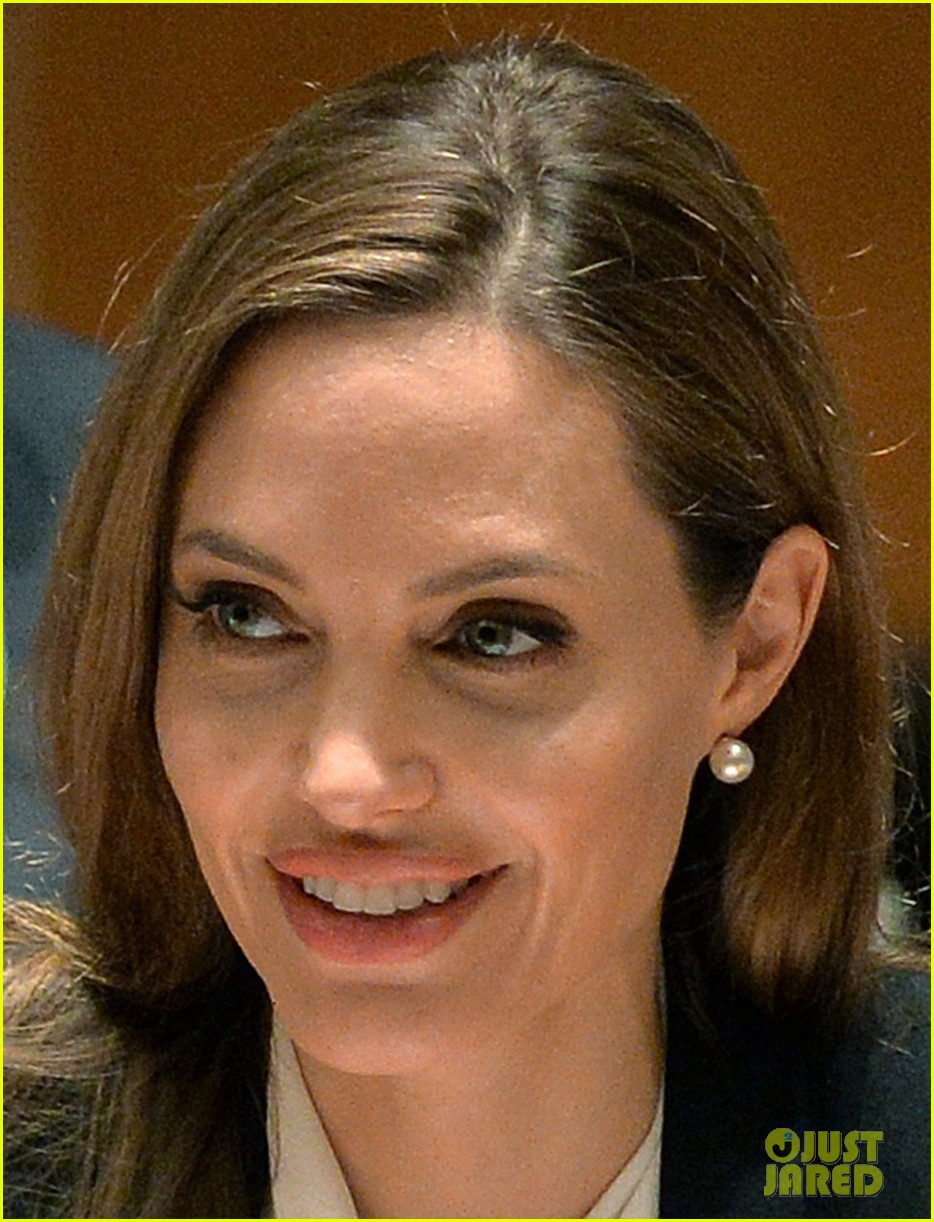 angelina jolie united nations security council meeting 04