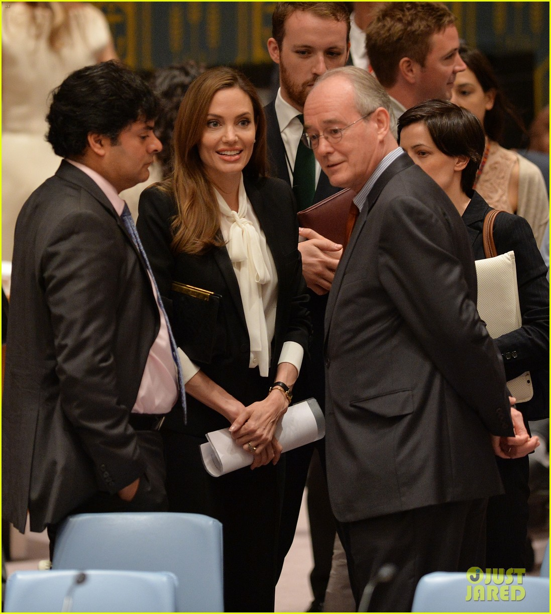 angelina jolie united nations security council meeting 05