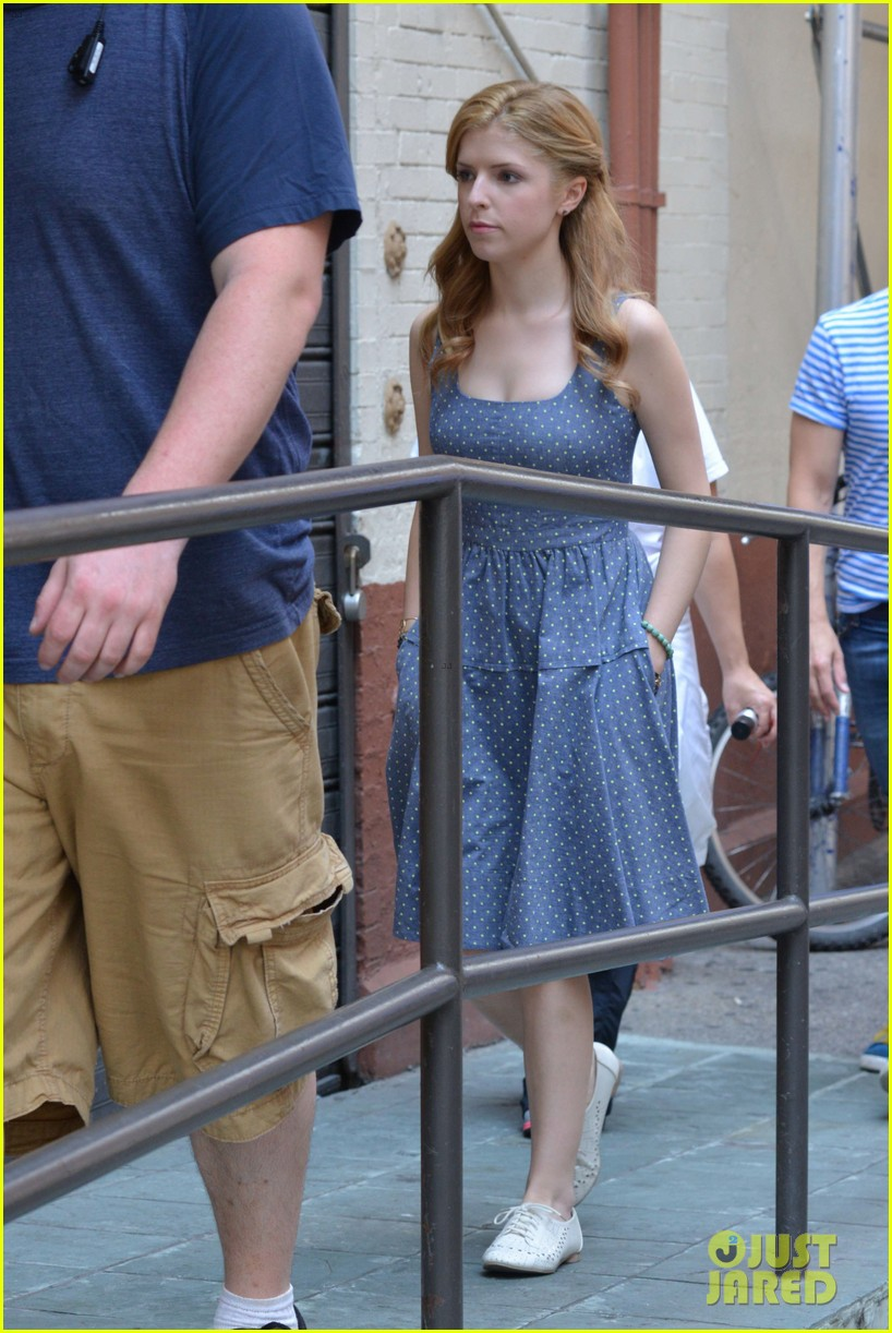 anna kendrick last five years film shoot day two 21
