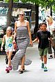 heidi klum i saved my kids hair for art projects 33