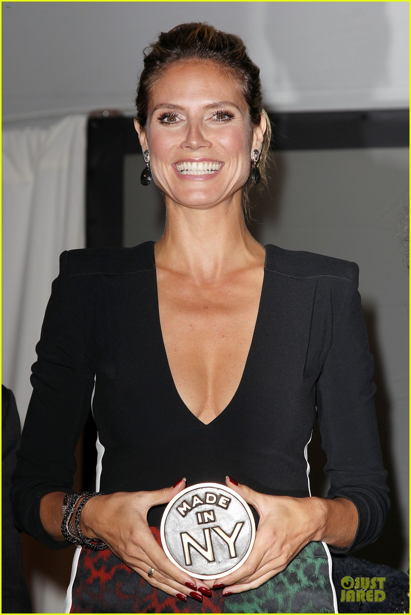 heidi klum made in ny awards honoree 16