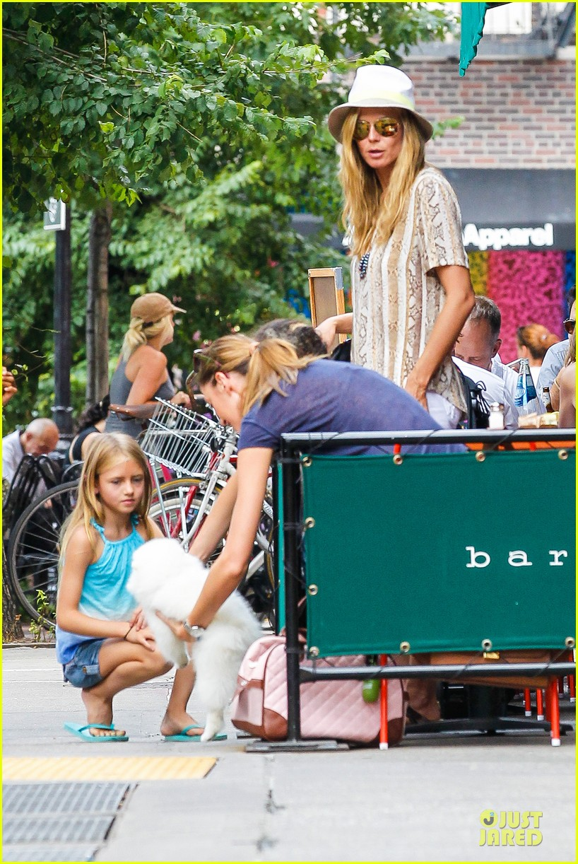 heidi klum martin kirsten bar pitti lunch with the kids 182898054