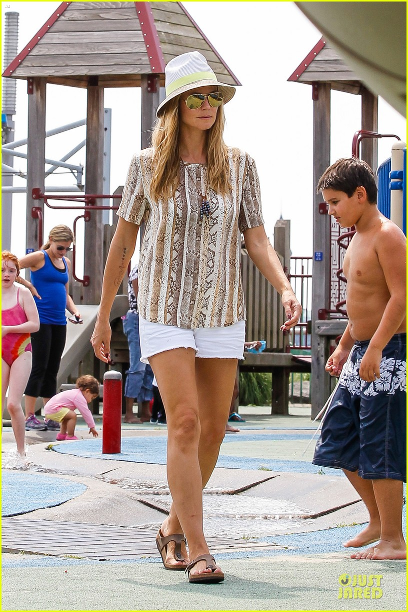 heidi klum martin kirsten bar pitti lunch with the kids 20