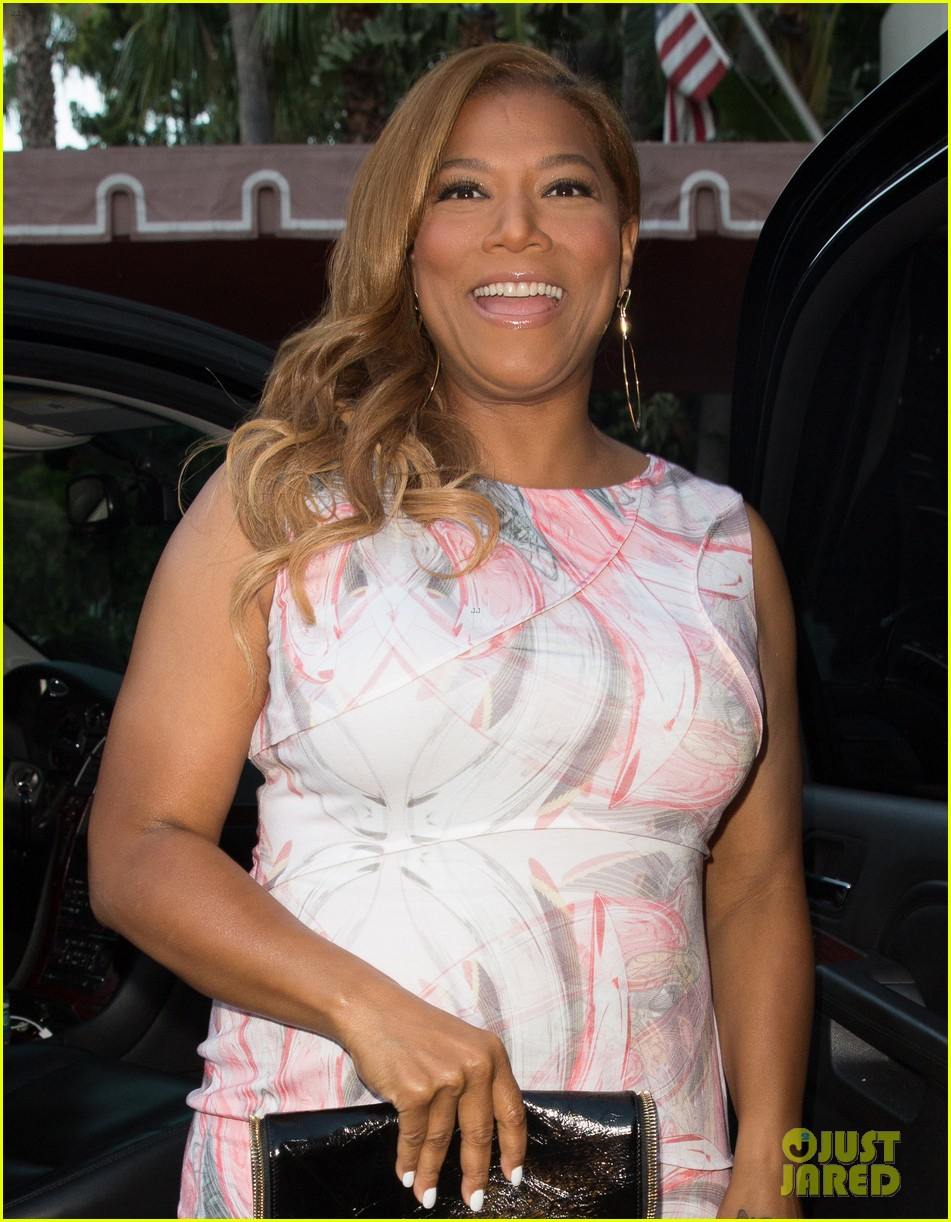 queen latifah promotes talk show at sunset tower 052899712