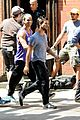 taylor lautner sweats it out for tracers in queens 09