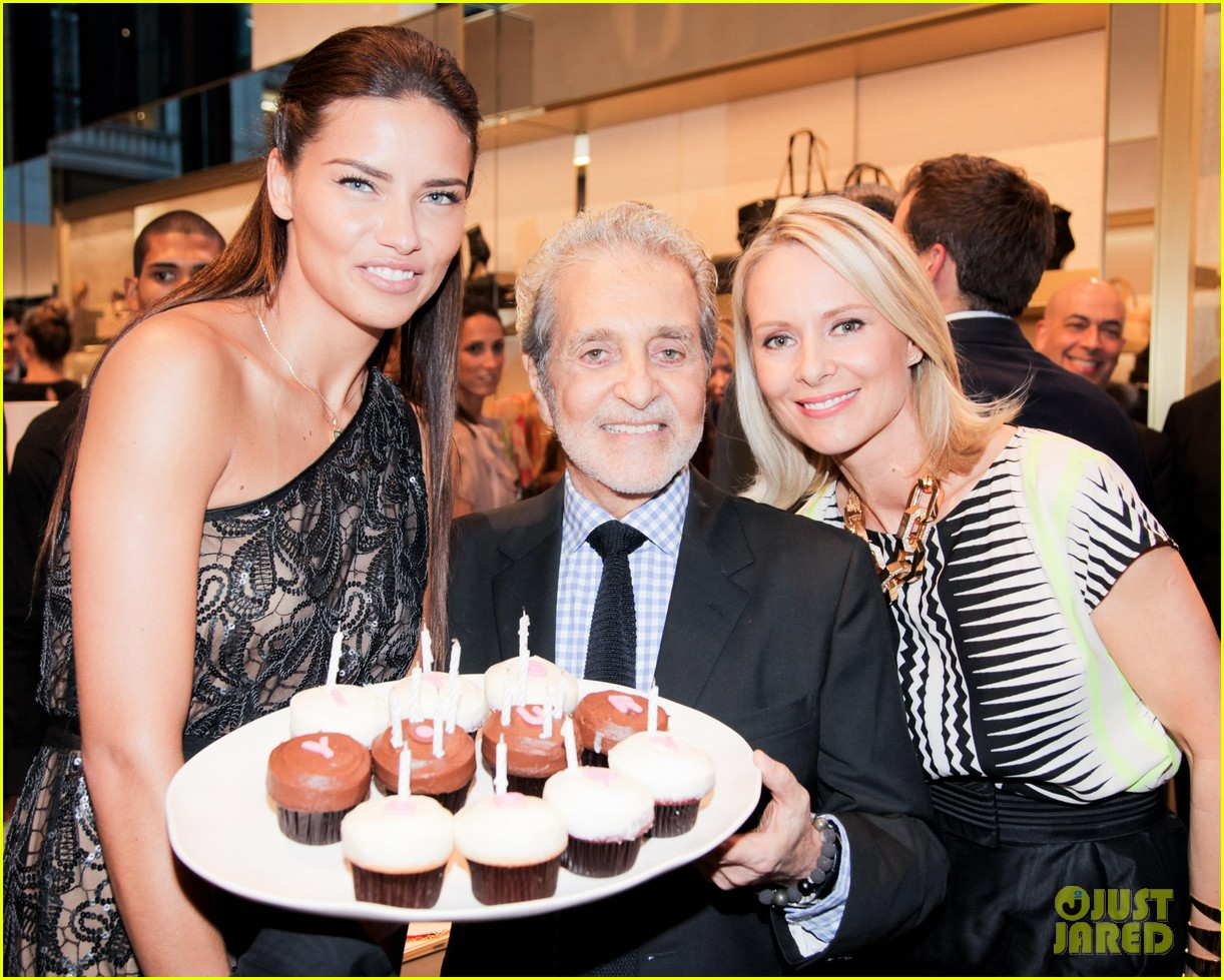 adriana lima birthday at vc store opening 05