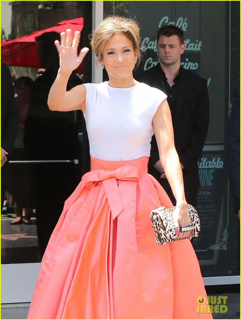 jennifer lopez receives star on hollywood walk of fame 24