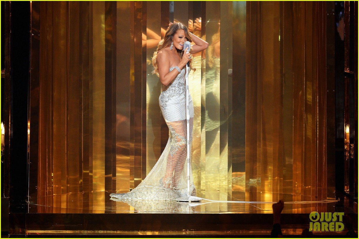 mariah carey miguel bet awards 2013 performance 01