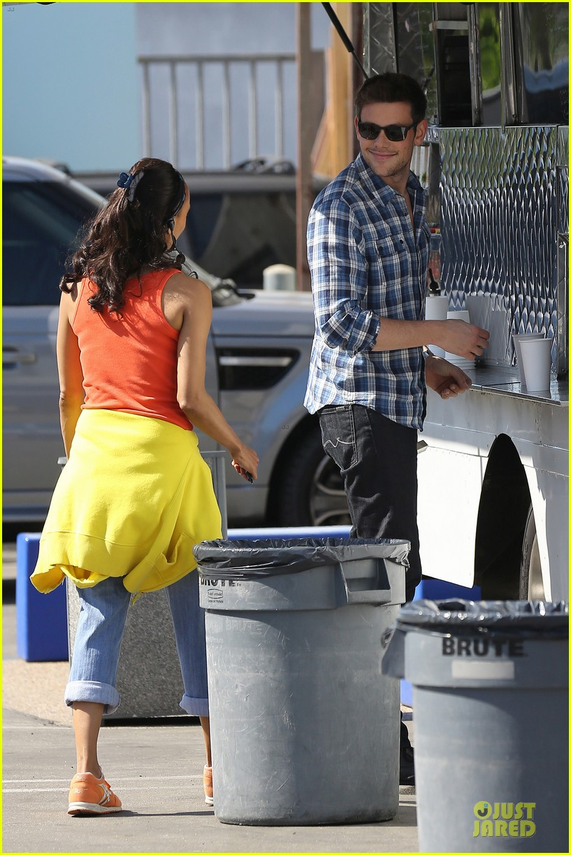 lea michele cory monteith glee season 5 photo shoot 112900185