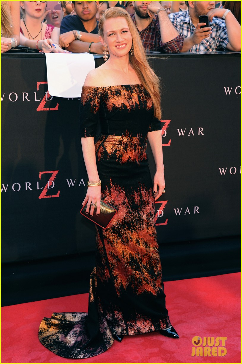 mireille enos james badge dale world war z premiere 06