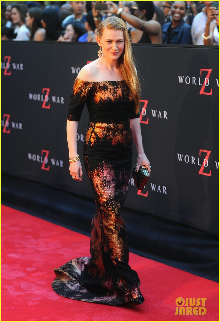 mireille enos james badge dale world war z premiere 07