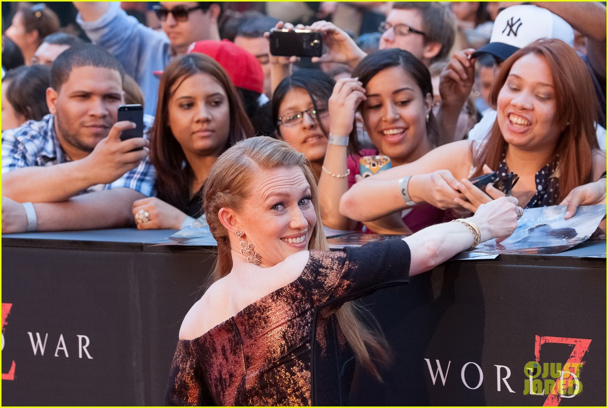 mireille enos james badge dale world war z premiere 17