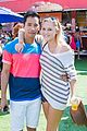 maika monroe michael b jordan just jared summer kick off party mcdonalds 09