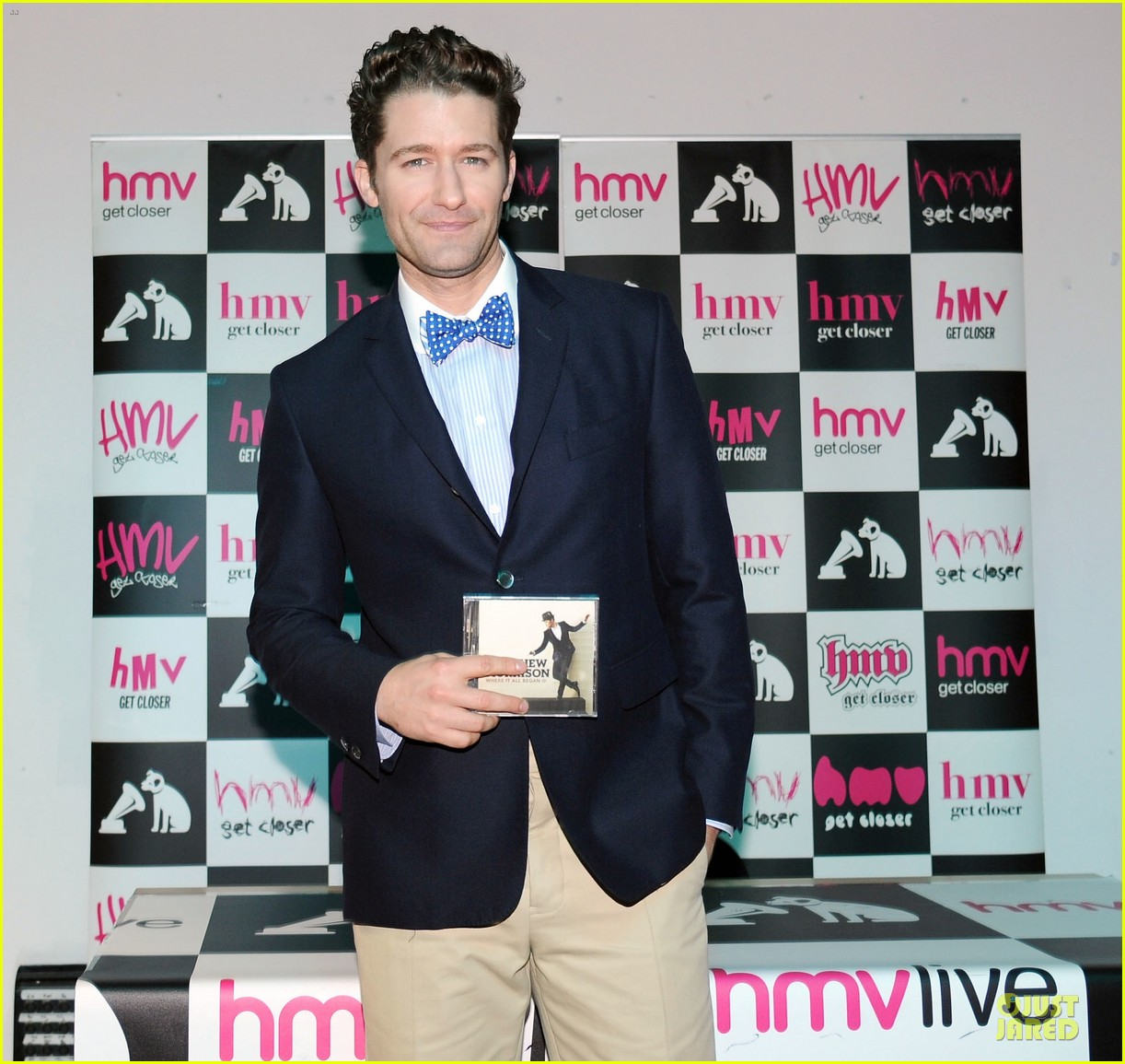 matthew morrison where it all began album signing 022894908