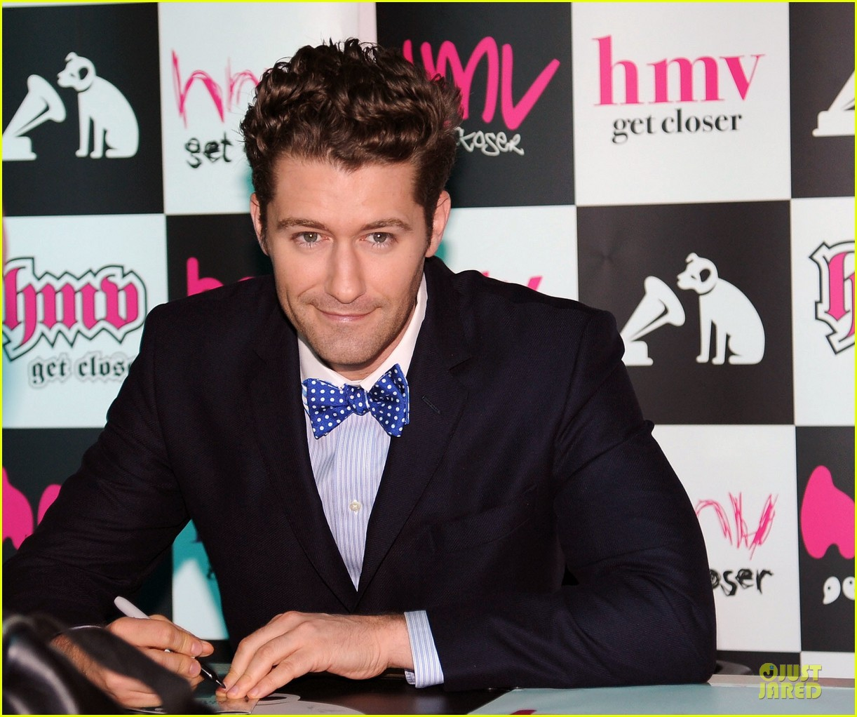 matthew morrison where it all began album signing 04