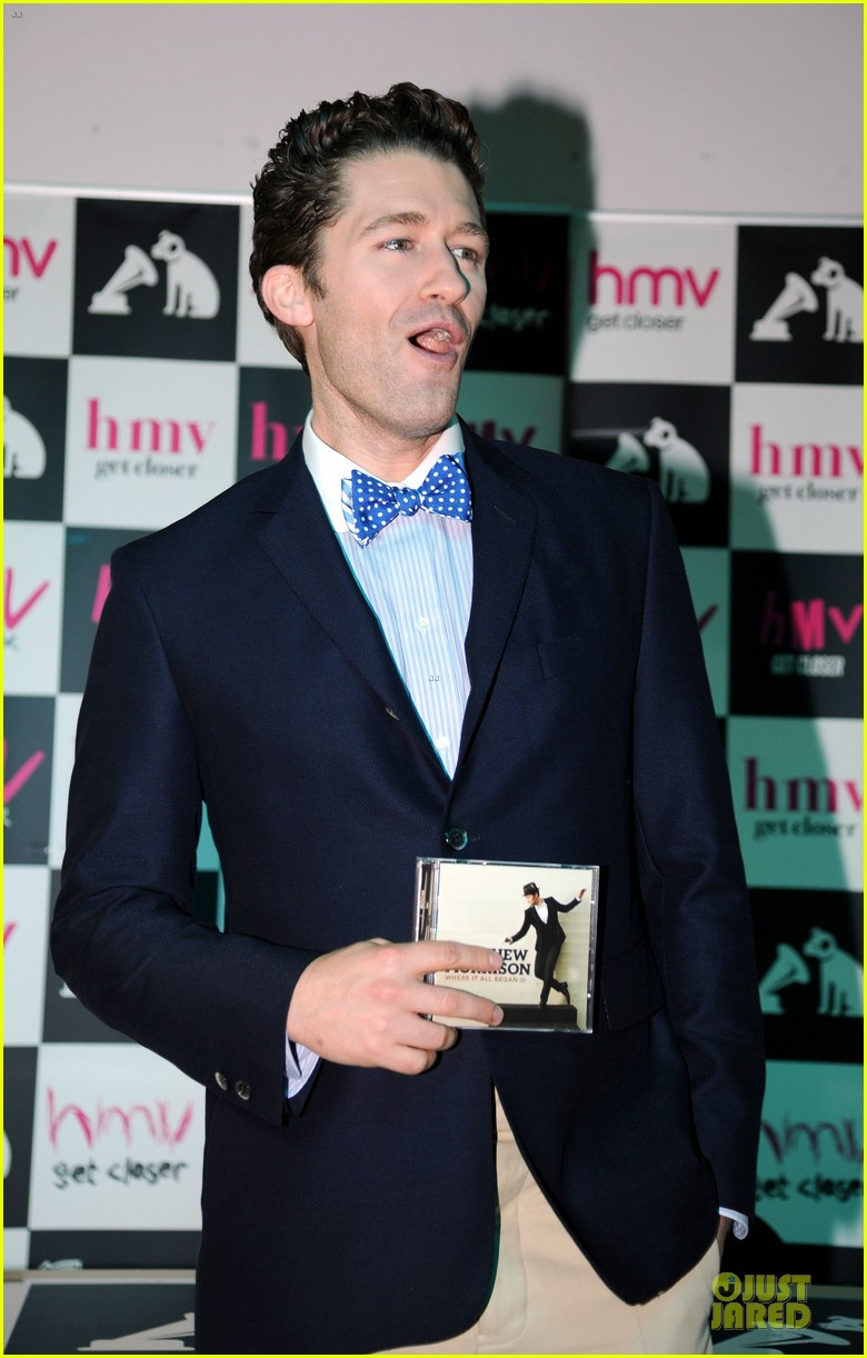 matthew morrison where it all began album signing 062894912