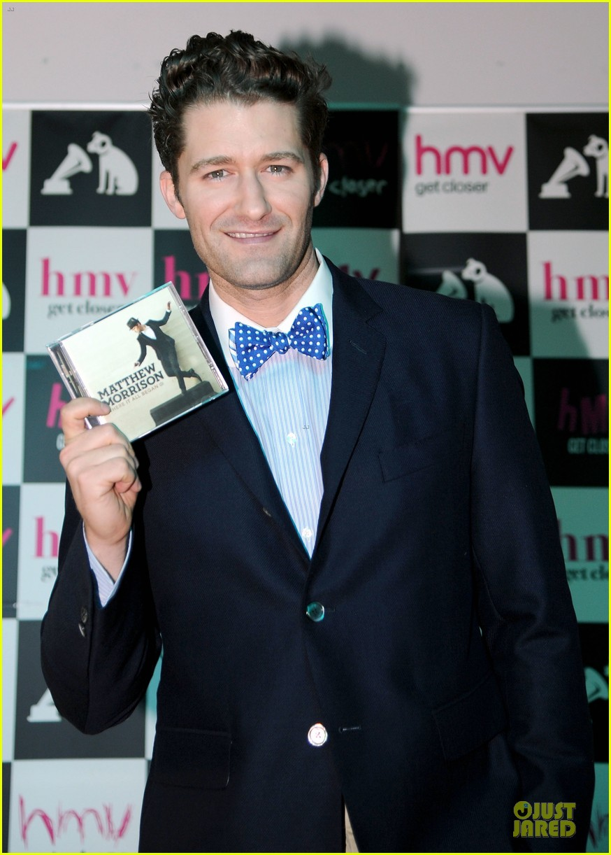 matthew morrison where it all began album signing 07