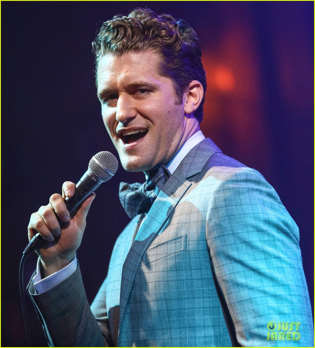 matthew morrison friends family show with colton haynes 182890772