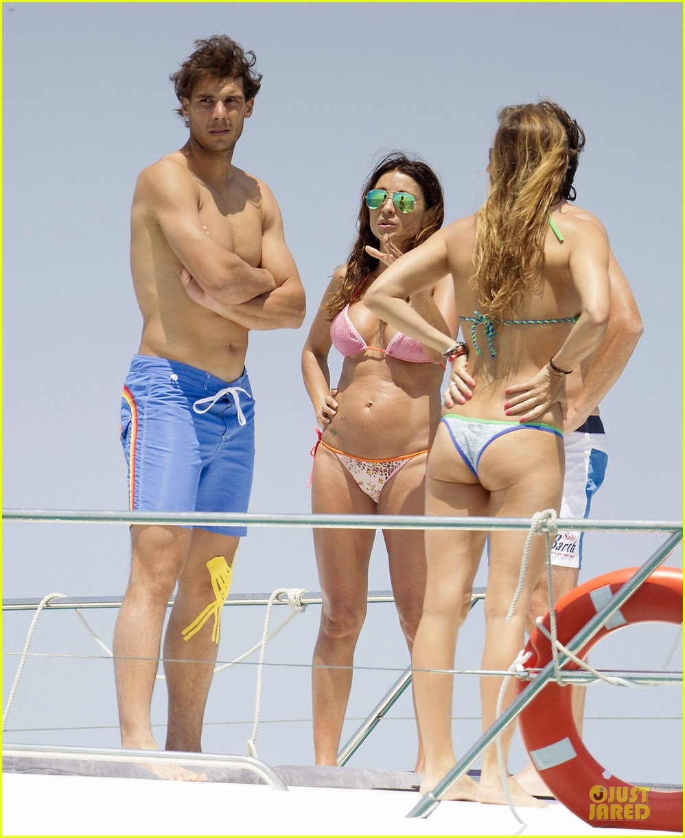 rafael nadal shirtless ibiza vacation with maria francisca perello 092901377