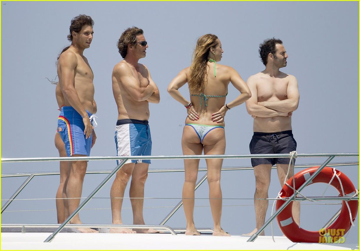 rafael nadal shirtless ibiza vacation with maria francisca perello 122901380