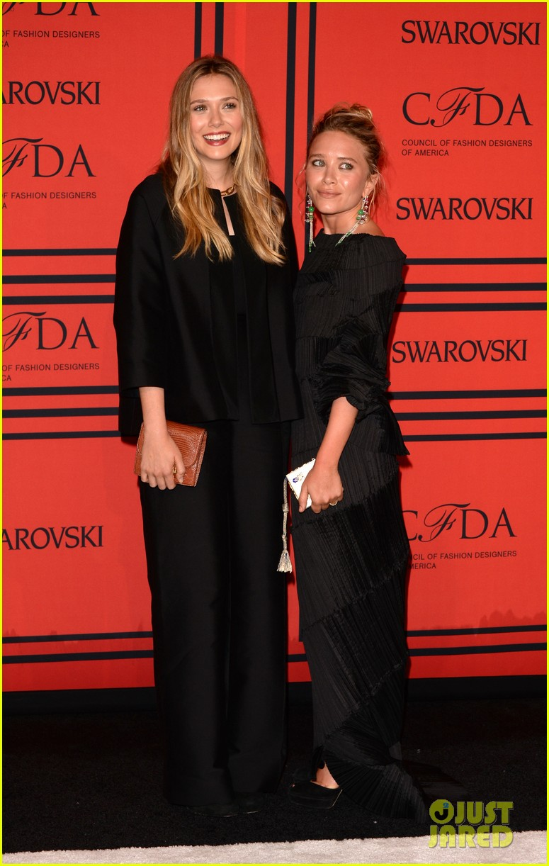 elizabeth mary kate olsen cfda fashion awards 2013 052883822