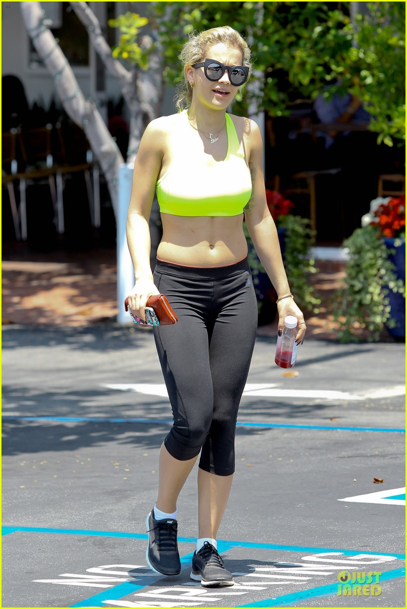 rita ora hot la makes me wanna get healthy 24