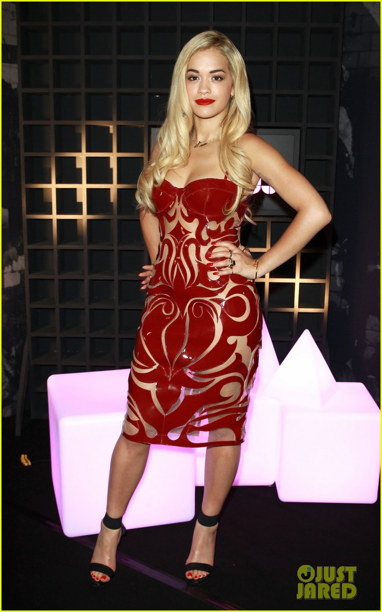 rita ora sony xperia access launch party 022894222